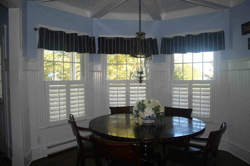 Cafe Shutters With Valance